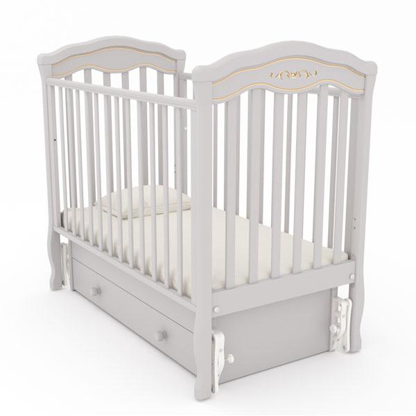 Детские кроватки с маятниковым механизмом